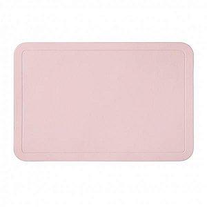 Jogo Americano PVC Color Rosa Chá