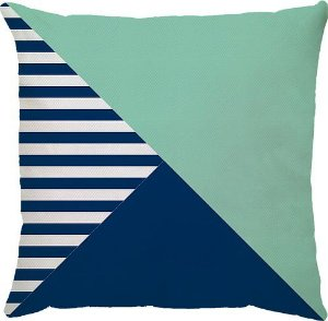 Capa Patch Azul/Aqua