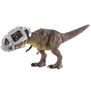 Dinossauro Tyrannosaurus Rex - Fuga Extrema - Jurassic World - Mattel