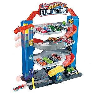Pista Garagem De Manobras 4 Pisos - Hot Wheels City - Mattel