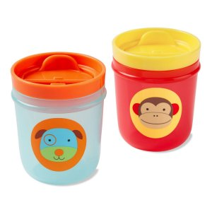 Copos Skip Hop Zoo Cachorro e Macaco