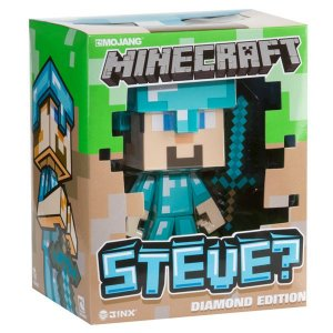 Boneco Vinil Minecraft Steve