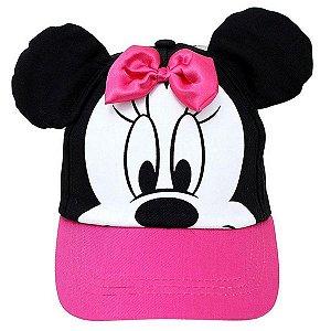 Boné Com Orelhas Minnie Disney