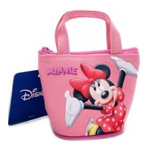 Mini Bolsa Porta Moedas Minnie Disney
