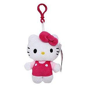 Chaveiro De Pelúcia com Porta Moedas Hello Kitty