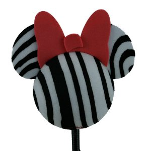 Enfeite para Antena Disney Minnie Zebra