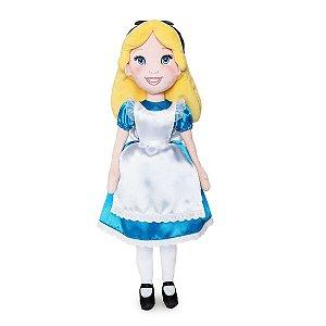 Pelúcia Princesa Alice no País das Maravilhas Disney