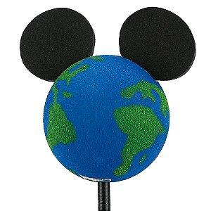 Enfeite para Antena Disney Mickey Planeta Terra