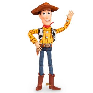 Boneco Xerife Woody Toy Story Disney com Som