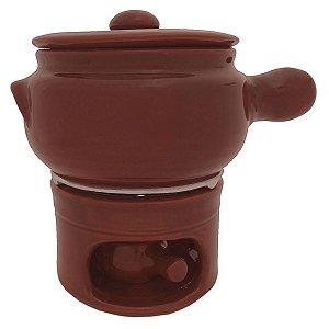 Kit Fondue Completo de Barro 800 ml