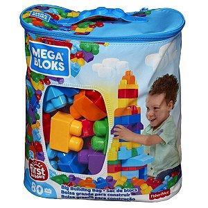 Mega Bloks Sacola 80 Peças - First Builders - Fisher-Price