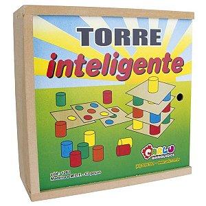 Torre Inteligente Brinquedo Educativo Pedagógico Carlu