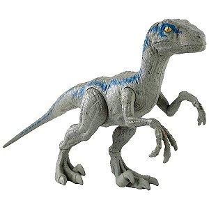 Dinossauro Velociraptor Blue Jurassic World - Mattel