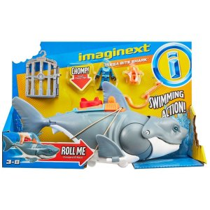 Imaginext Tubarão Mega Mordida - Fisher-Price