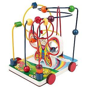 Aramado Borboleta Brinquedo Educativo Pedagógico Carlu