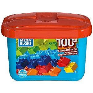 Mega Bloks Caixa Junior Builders 100 Peças