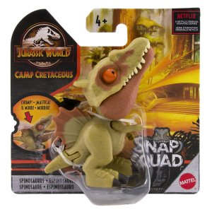 Dinossauro Spinosaurus - Snap Squad - Jurassic World - Mattel