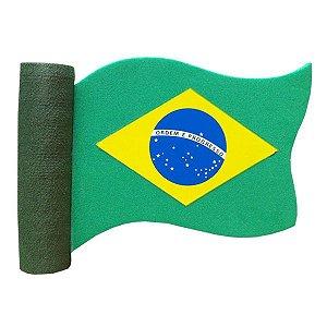 Enfeite para Antena Bandeira do Brasil