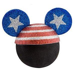Enfeite para Antena Disney Mickey Chapéu América