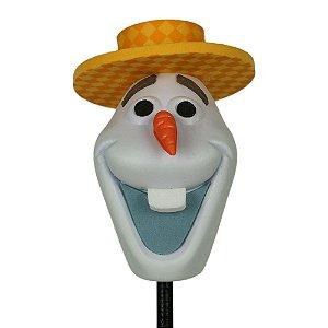 Enfeite para Antena Disney Olaf de Chapéu