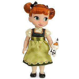 Boneca Princesa Anna Frozen Disney Animators