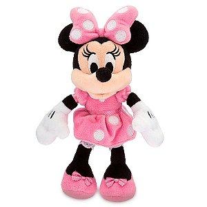 Pelúcia Minnie Rosa Disney Pequena