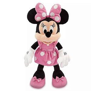 Minnie Rosa de Pelúcia Disney Grande