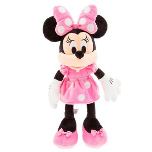 Pelúcia Minnie Rosa Disney Média