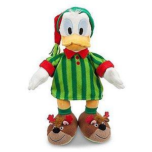 Pelúcia Pato Donald de Pijama Original Disney