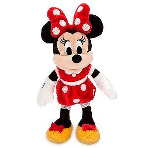 Pelúcia Minnie Vermelha Disney Pequena