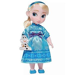 Boneca Princesa Elsa Frozen Disney Animators