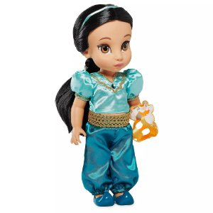 Boneca Princesa Jasmine Disney Animators