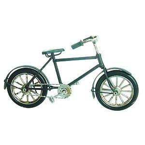 Bicicleta decorativa em metal