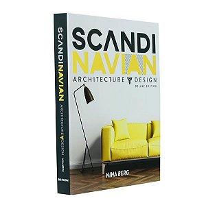 Livro decorativo scandinavian architecture & desing