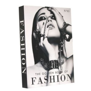 Livro decorativo Golden book of fashion vl.3