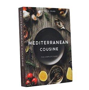 Livro decorativo Mediterranean cousine