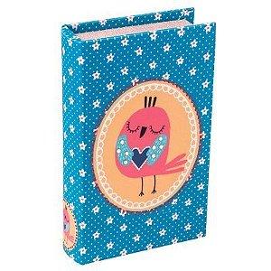 Livro Cofre Florestinha Pássaro