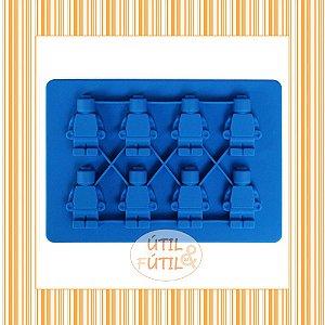 Forma para Gelo Formato Bonecos Lego