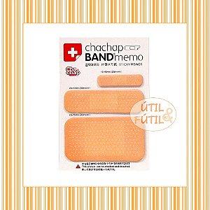 Bloco de Notas Post-it em Forma de Band-aid