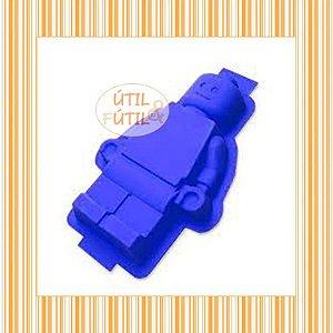 Forma para Bolo Formato Boneco Lego Grande