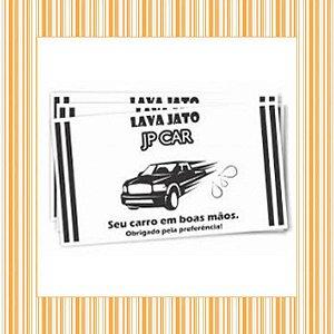 Tapete de Papel para Carro 30 x 42 cm - 1x0 - Sulfite 75g - Sem Verniz