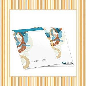 Envelope Saco Personalizado em Papel OffSet 90g - 4x0 - Sem Verniz
