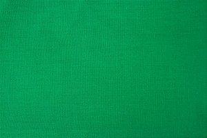 Tecido para Patchwork Liso Verde Bandeira (0,50m x 1,50m)