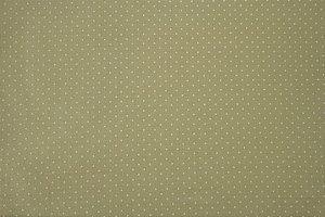 Tecido para Patchwork Poá Branco fd. Bege (0,50m x 1,50m)