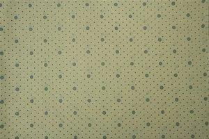 Tecido para Patchwork Poá Azul fd. Palha (0,50m x 1,50m)