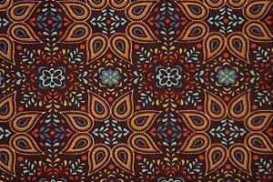 Tecido para Patchwork Novo México Marrom (0,50m x 1,50m)