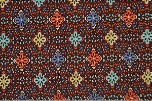 Tecido para Patchwork Novo México 1 Marrom (0,50m x 1,50m)