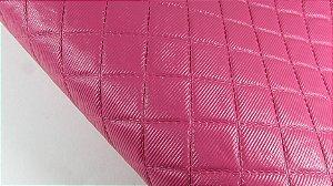 PVC Matelassado Pink (0,50m x 1,40m)