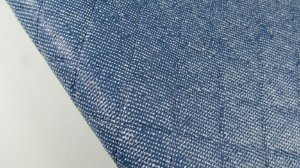 PVC Matelassado Jeans Claro (0,50m x 1,40m)