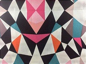 Tecido de Decoração Kaleidoscópio (0,50m x 1,40m)